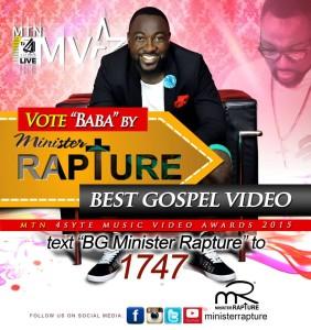 Minister Rapture