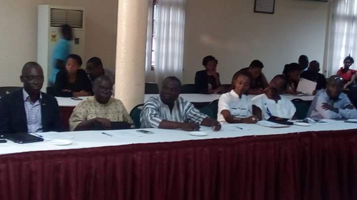 A cross section of participants  at the inauguration