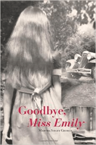 book cover shows young girl watching car leave