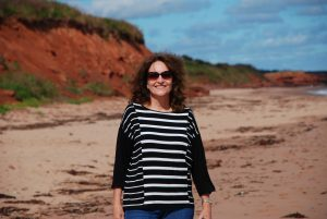 Vacation in Canada red cliffs Prince Edward Island