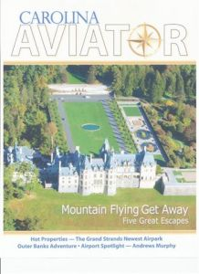 carolinas aviator magazine cover