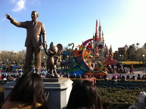 The Disneyland parade
