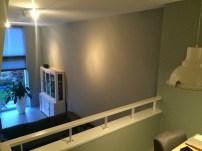 woonkamer muur schilderen