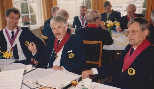 Norsell med sin kör 1992