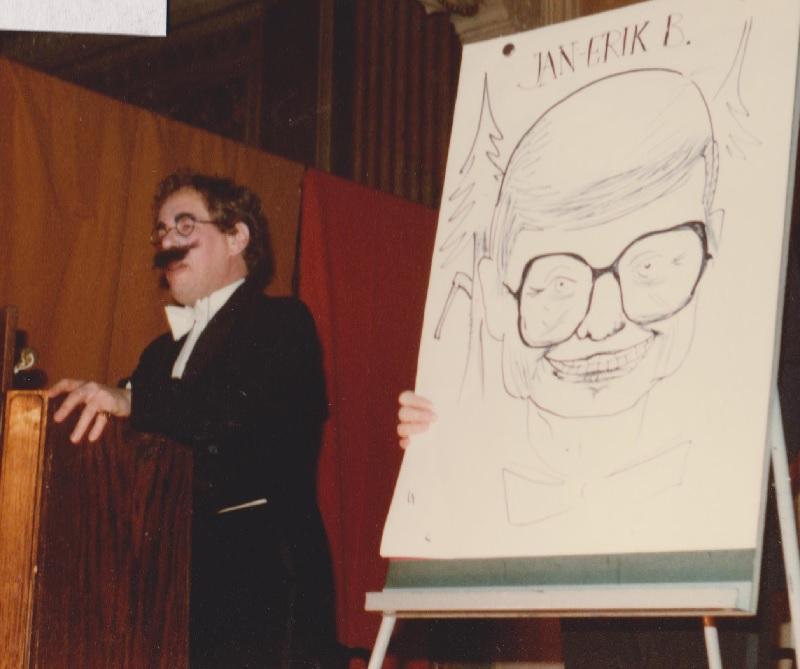 Bengt Stenberg i Spex 1977