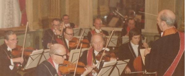 Borås orkester besök 1975