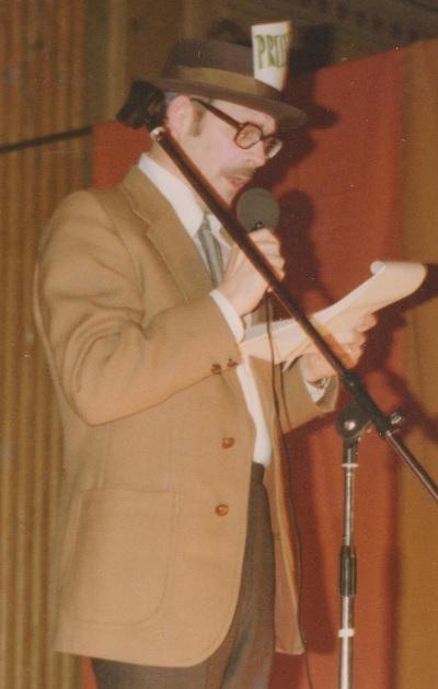 Gunnar Gårdmark i Spex 1977