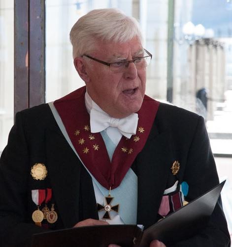 StM Gunnar Gotte medaljerar
