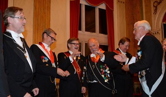 Utdelning av Körens medaljer