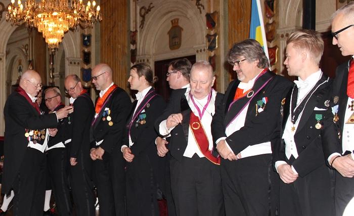 Flera medaljörer