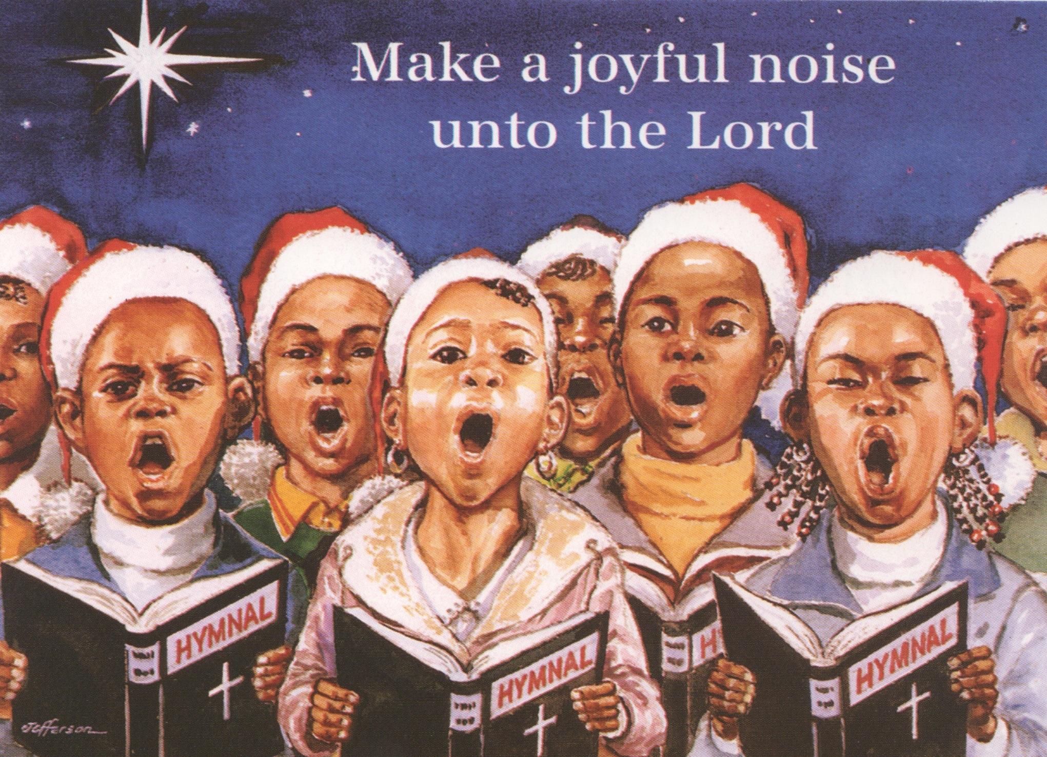 C02 Joyful Noise Christmas Card JonMar Greeting Cards