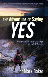 Adventure of saying yes book