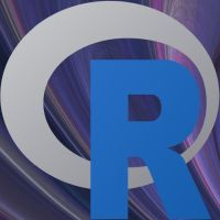 The R Podcast logo