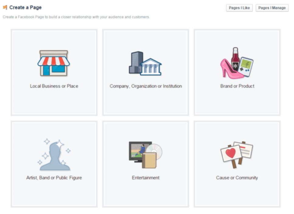 Home Business Facebook Fan Page setup