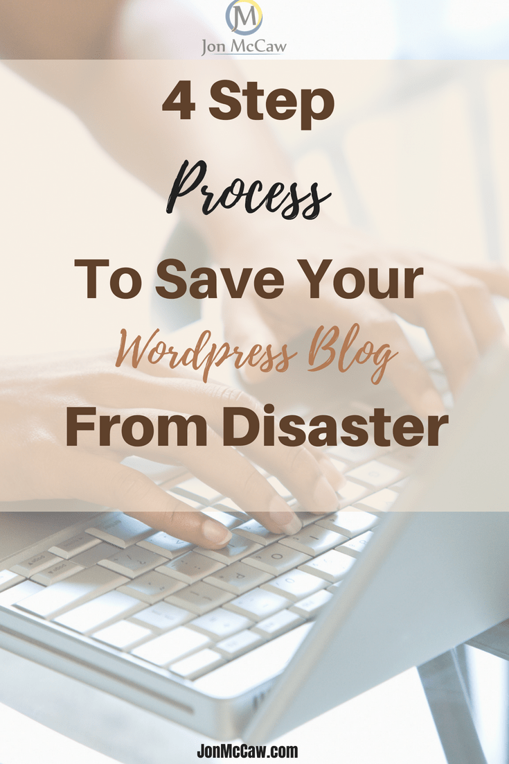 WordPress Blog Backup Guide To Avoid Disaster