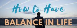 Balance For Successful Entrepreneurs