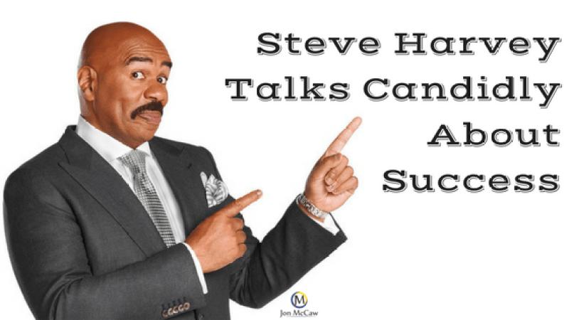 Steve Harvey Talks Success
