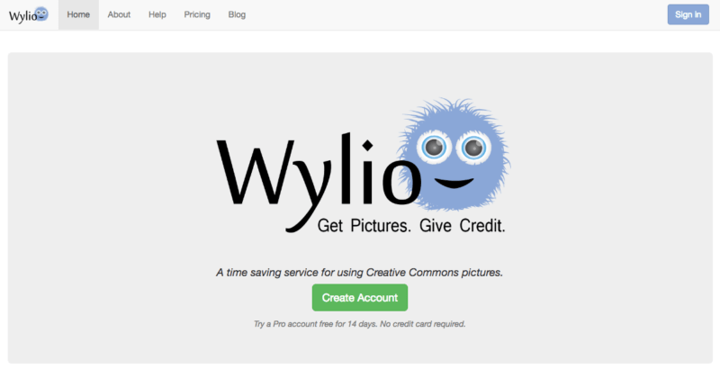 Free image website resources - Wylio