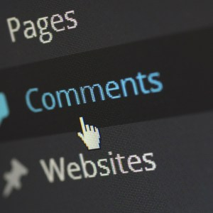 Interaction with your blog comments