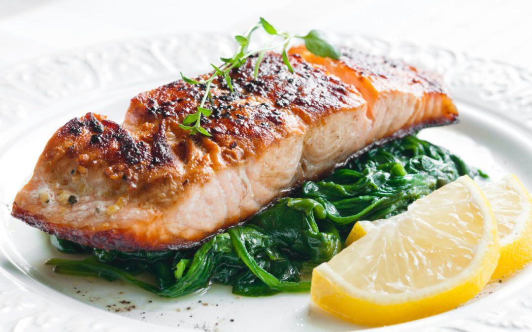 Jonny's Mega Omega Salmon in a Snap
