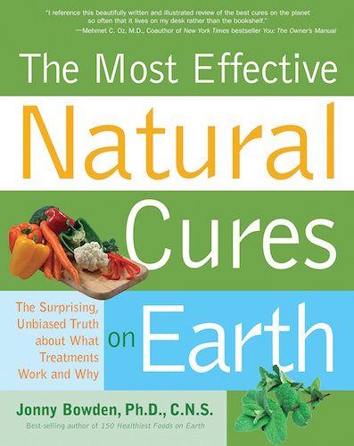 The Most Effective Natural Cures on Earth - Book Cover