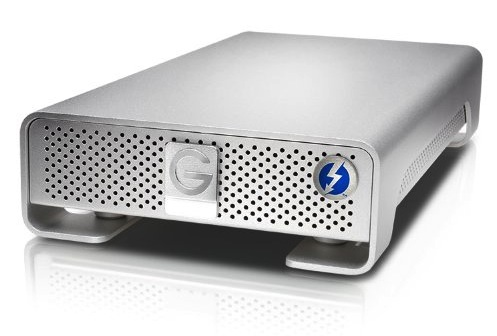 Best thunderbolt drives for film editing