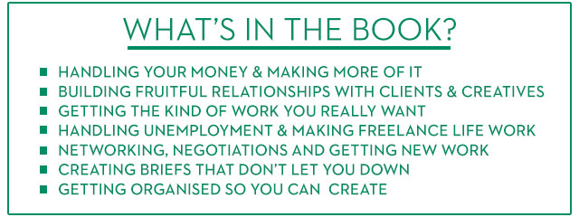 whats in how to be freelance ebook