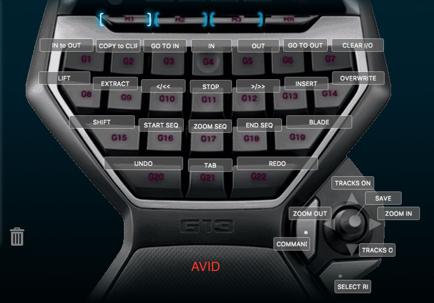 Video Editing With Logitech G-13 Keyboard | Jonny Elwyn