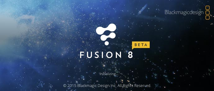 Getting started with Fusion 8