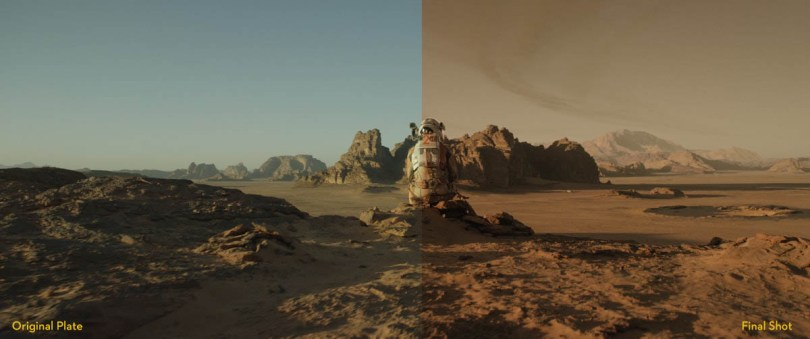 The making of the Martian