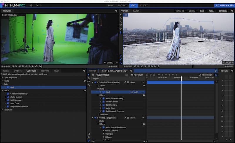 Resultado de imagen de HitFilm Pro 6