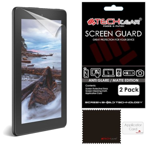 "best matte screen protector 7"" amazon fire"