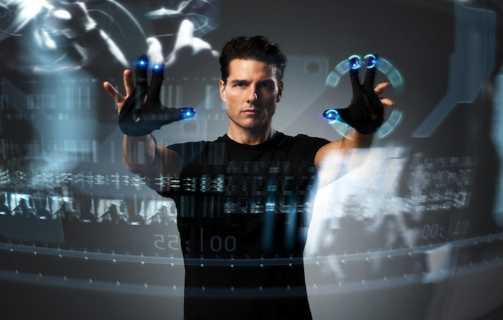 Minority Report User Interface