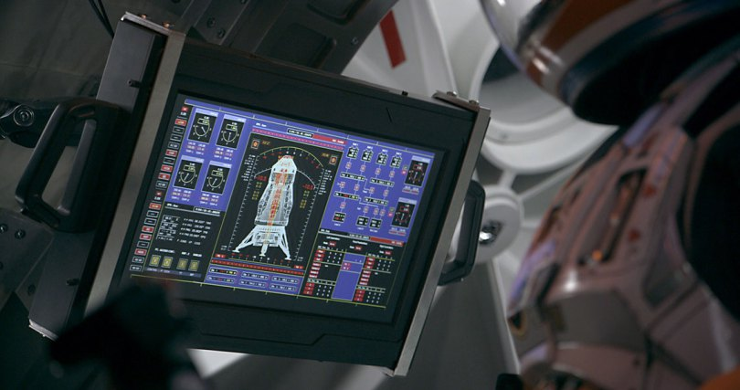 NASA images in The Martian