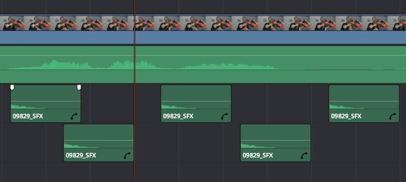 editing in resolve 12.5