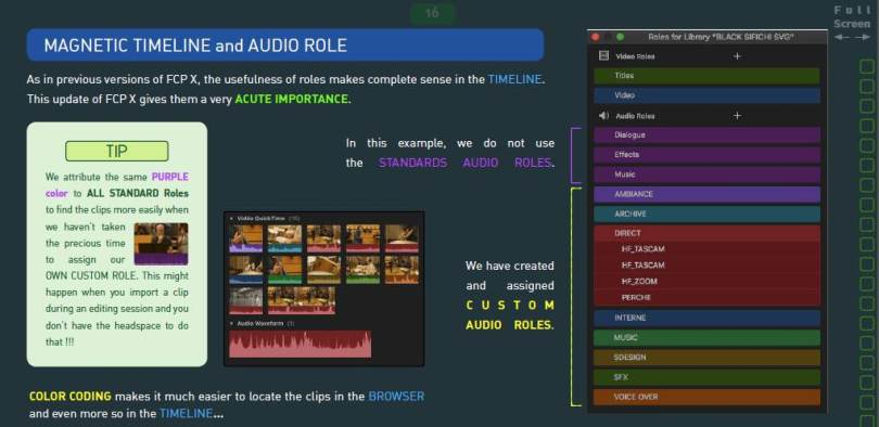 New features in FCPX 10.3