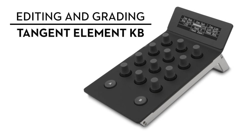 editing and grading with tangent element Kb