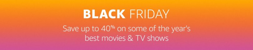 Amazon Prime Video Deals Black Friday 2016