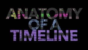 anatomy of a film editing timeline