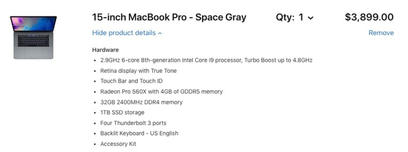 best macbook pro spec for film editing