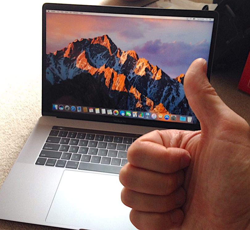 macbook pro 2017 for video editing
