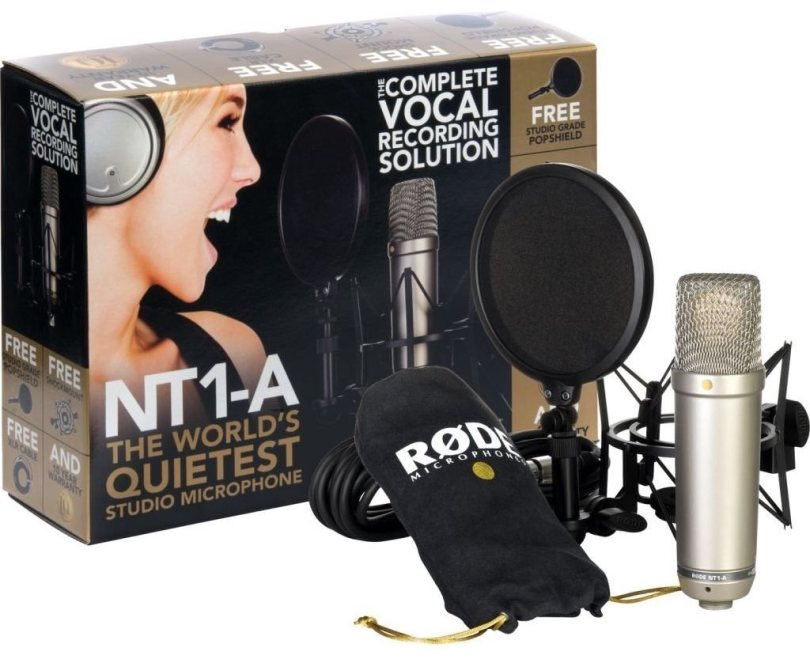 Best affordable microphone for home voice over