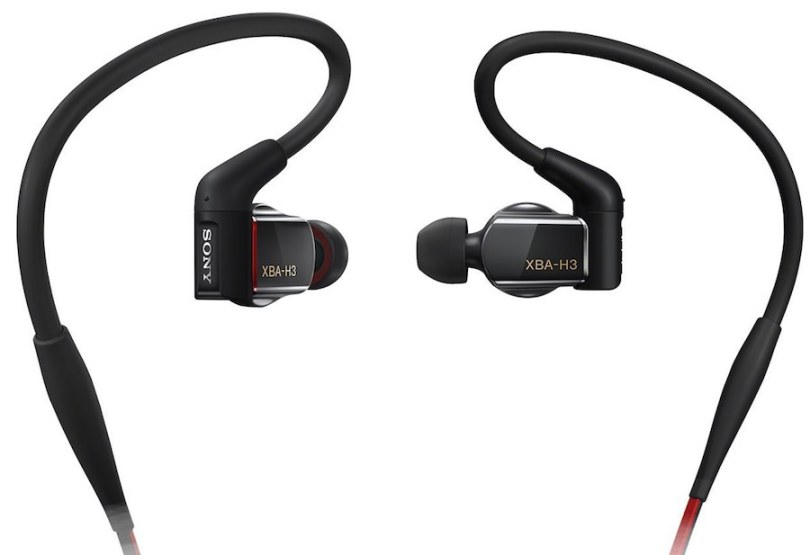 Sony's most expensive in-ear headphones
