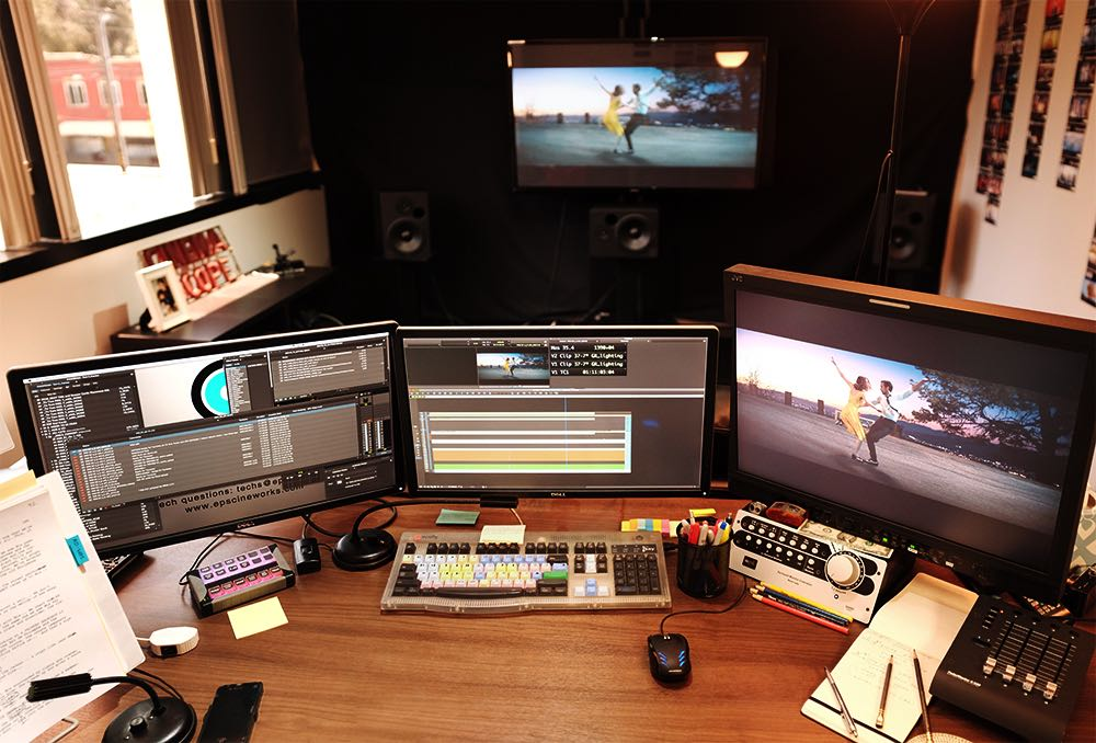 tom cross edit suite for la la land