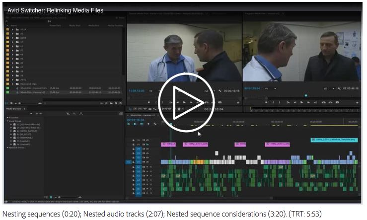 switching from avid media composer to premiere pro