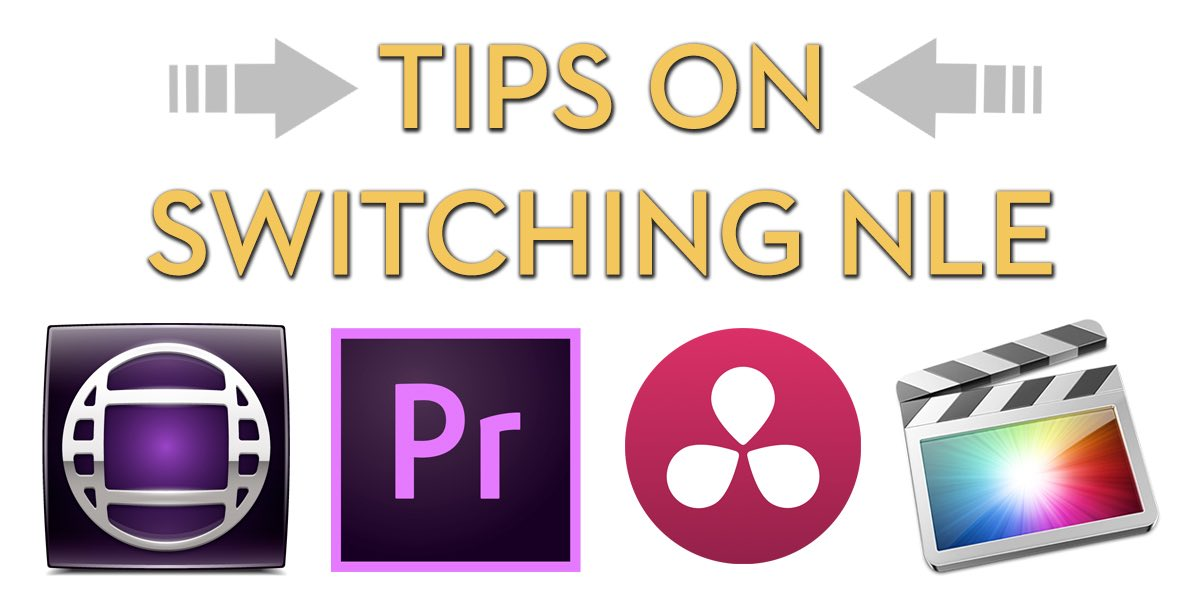 Tips on Switching Video Editing Software | Jonny Elwyn
