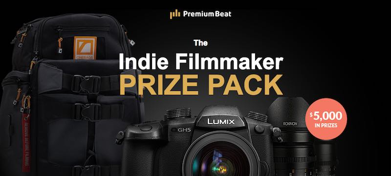 win free filmmaking gear