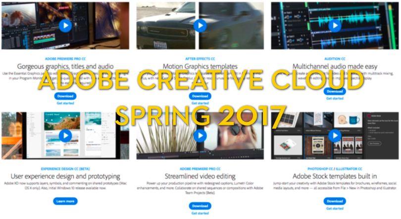 Adobe Creative Cloud Feature update