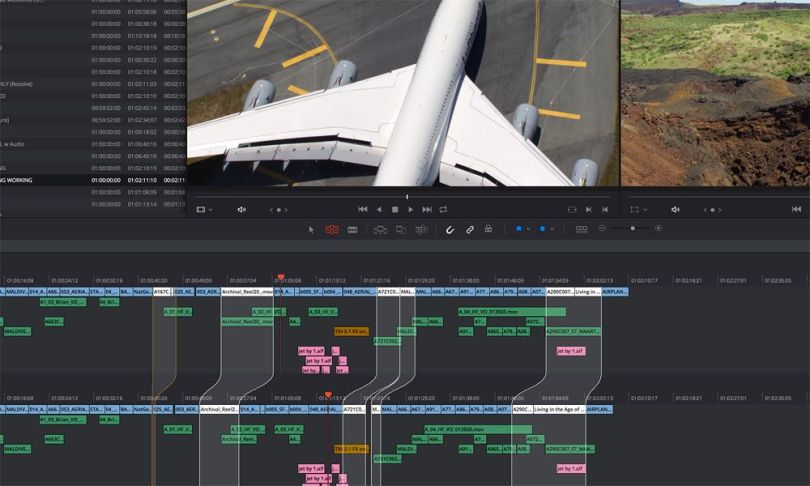 multi user collaboration tools in resolve 14