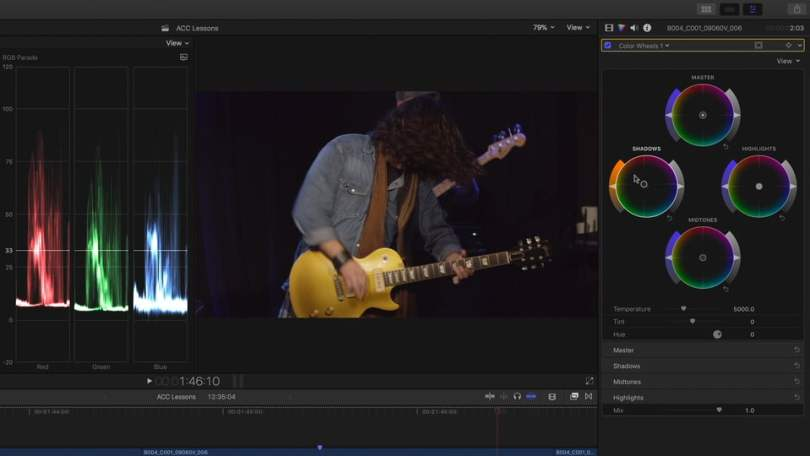Colour Grading in FCPX 10.4